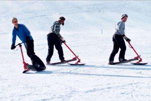 Trois ski riders